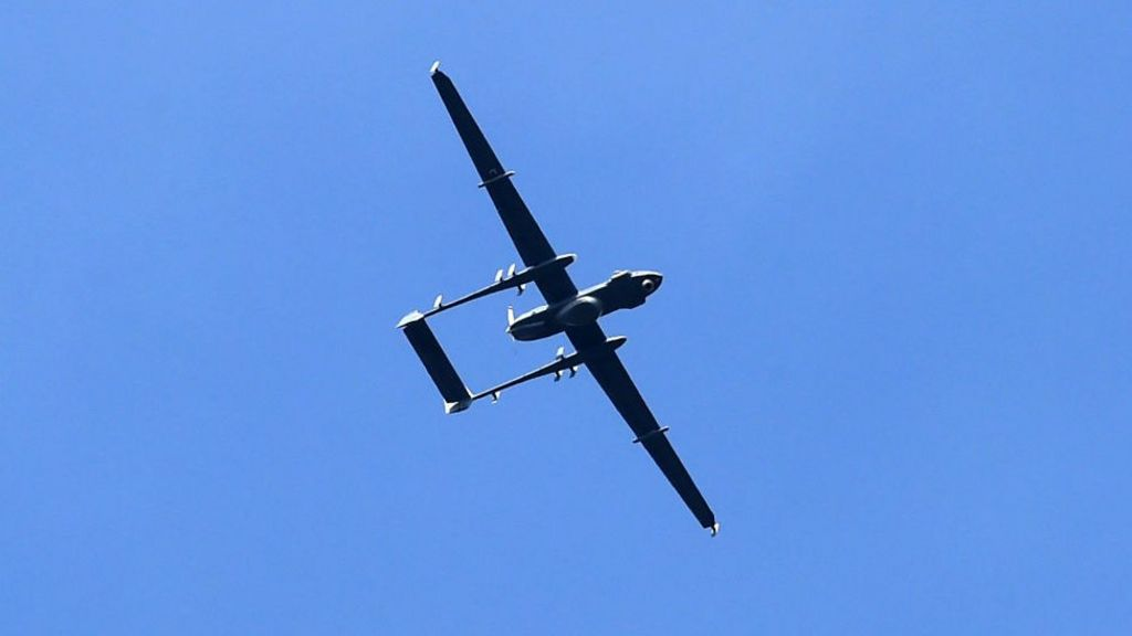 Indian drone 'crashed in China'