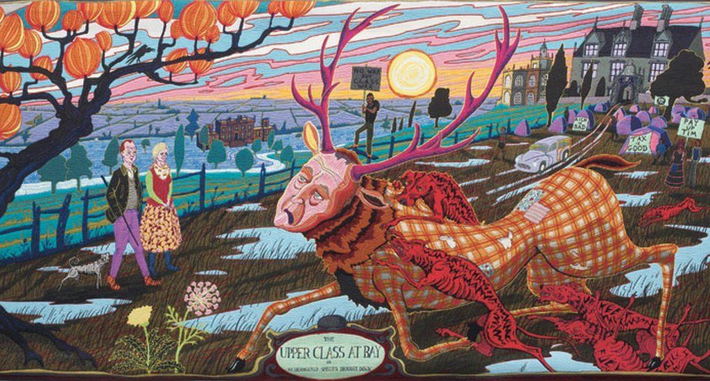 'The Upper Class at Bay' by Grayson Perry