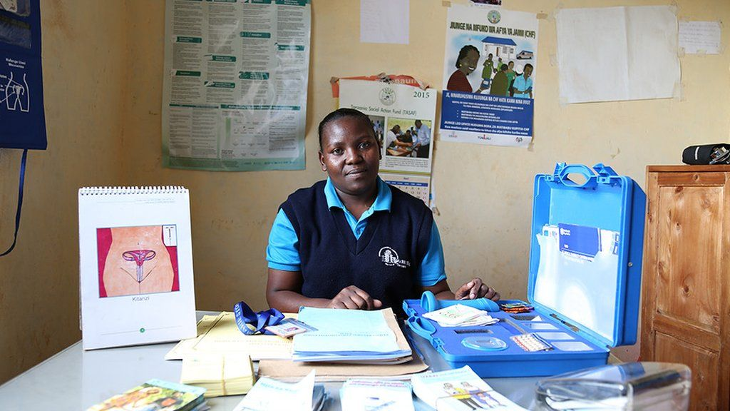 Emma Shinyaka, team leader of the Marie Stopes Outreach team in Makambako district, Tanzania, in 2017