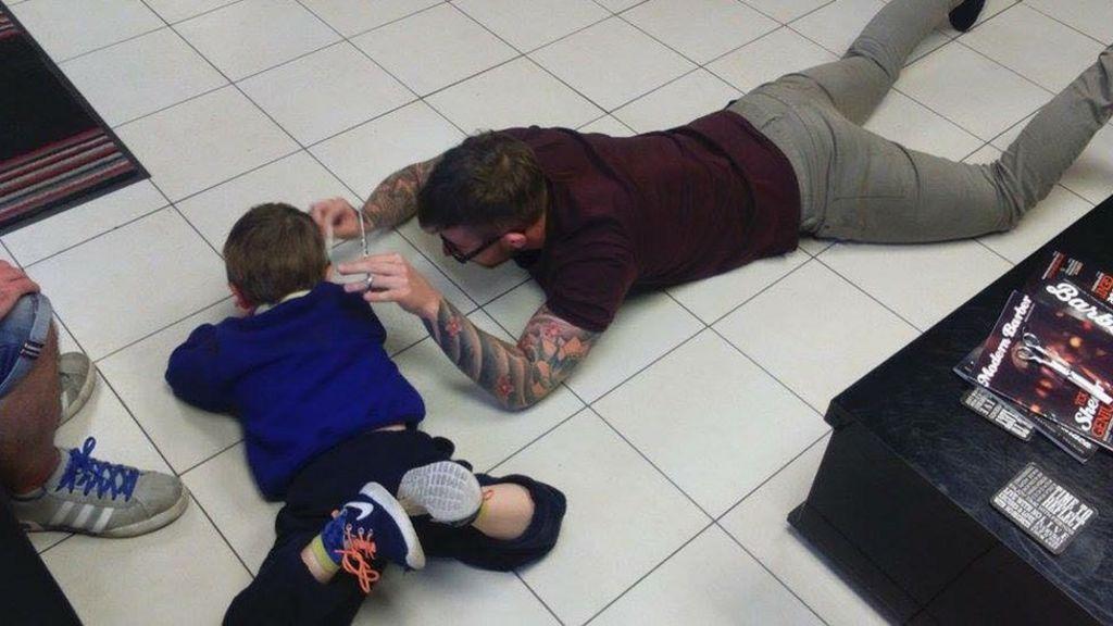 Children With Autism Find Understanding >> The Barber For Autistic Children