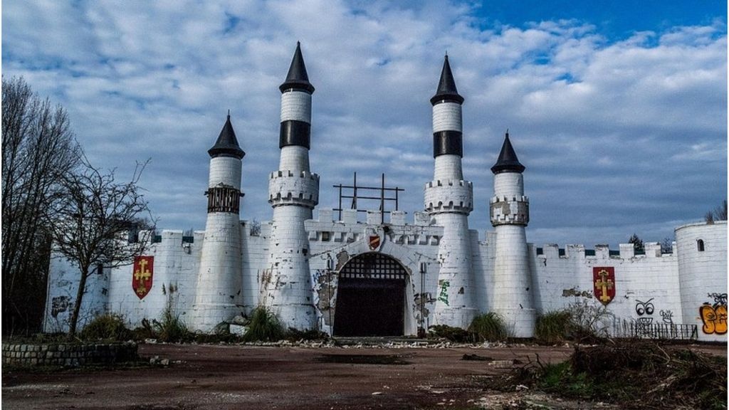 The Fun Stopped Here England S Derelict Theme Parks Bbc News