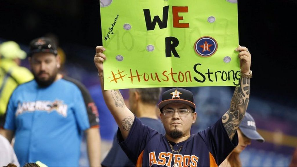 Houston Astros' World Series win after Hurricane Harvey: Online