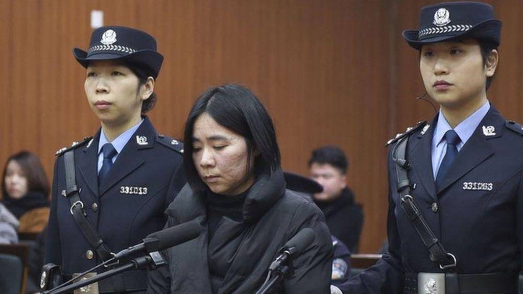 Chinese nanny Mo Huanjing executed for arson killings - BBC News