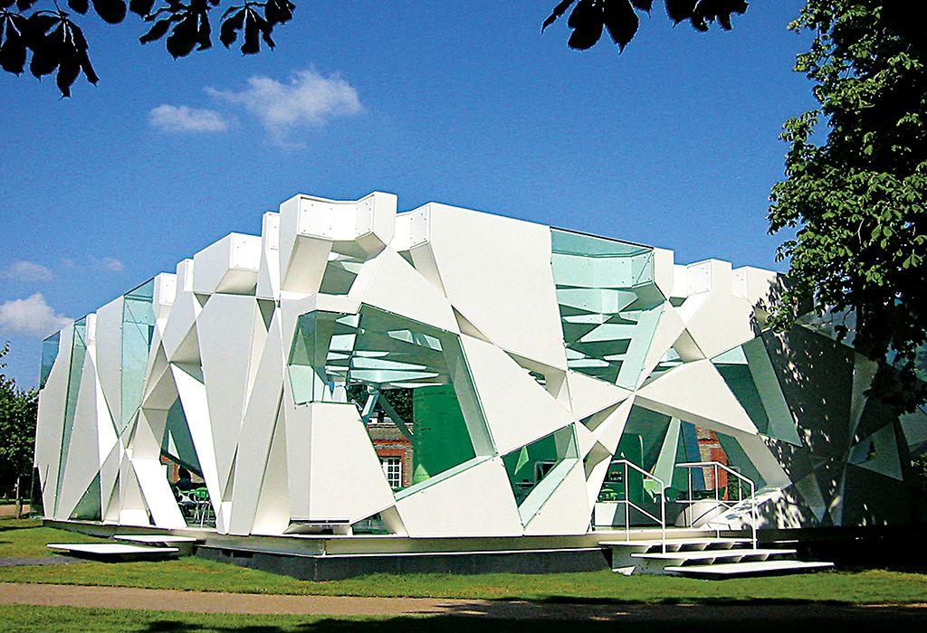'Serpentine Pavilion 2002' by Toyo Ito - UK