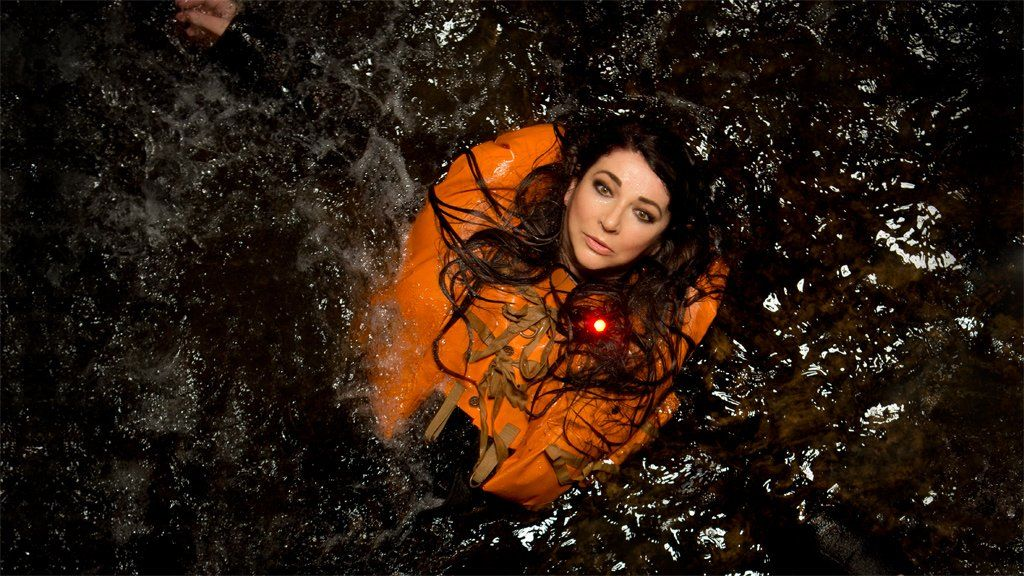 Kate Bush in the publicity image for Before The Dawn