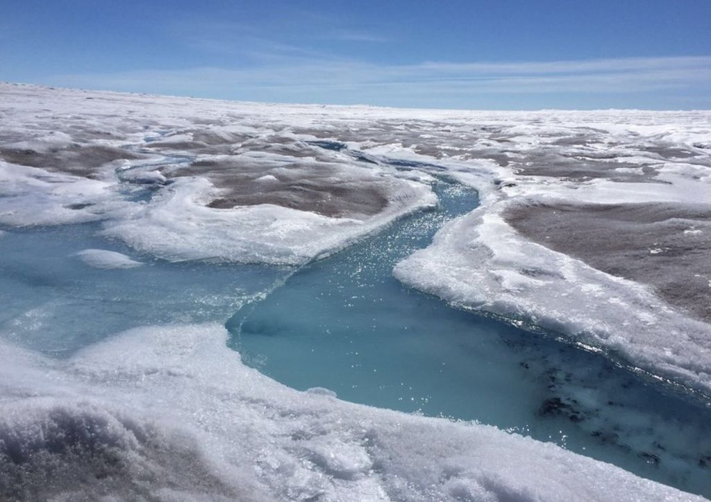 """Scientists are """"very worried"""" that the melting of the Greenland ice sheet could accelerate and raise sea levels more than expected."""
