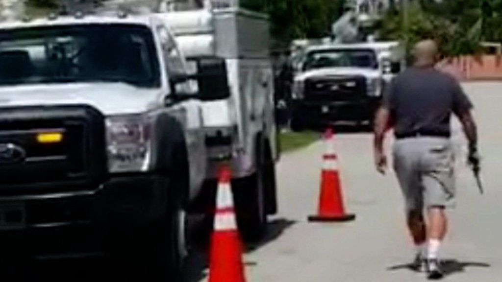 Florida man shoots tyres on trucks parked outside home