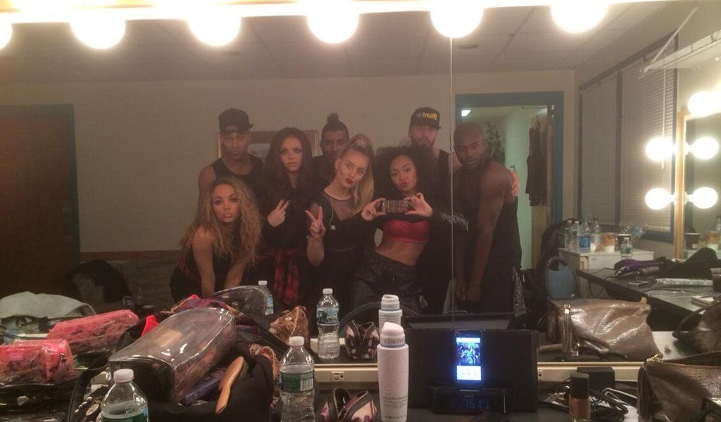 Little Mix on tour in the US