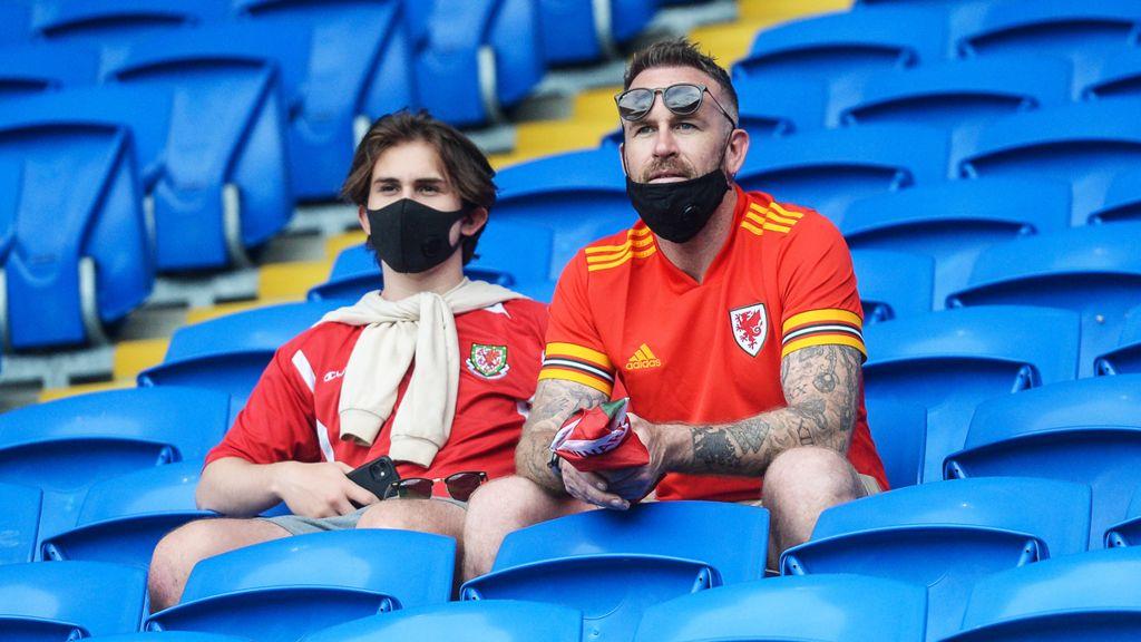 Wales football fans