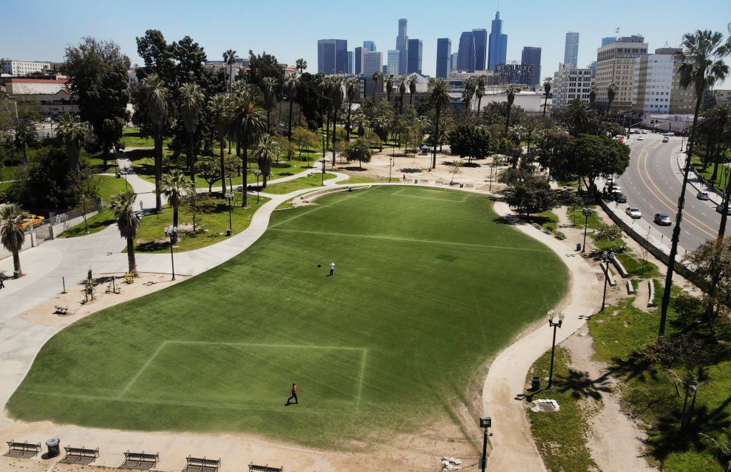 """Los Angeles, US, has had its longest stretch of air quality rated as """"good"""" since 1995"""