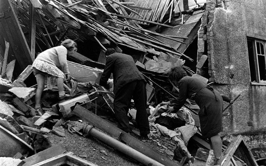 Photo of the Blitz