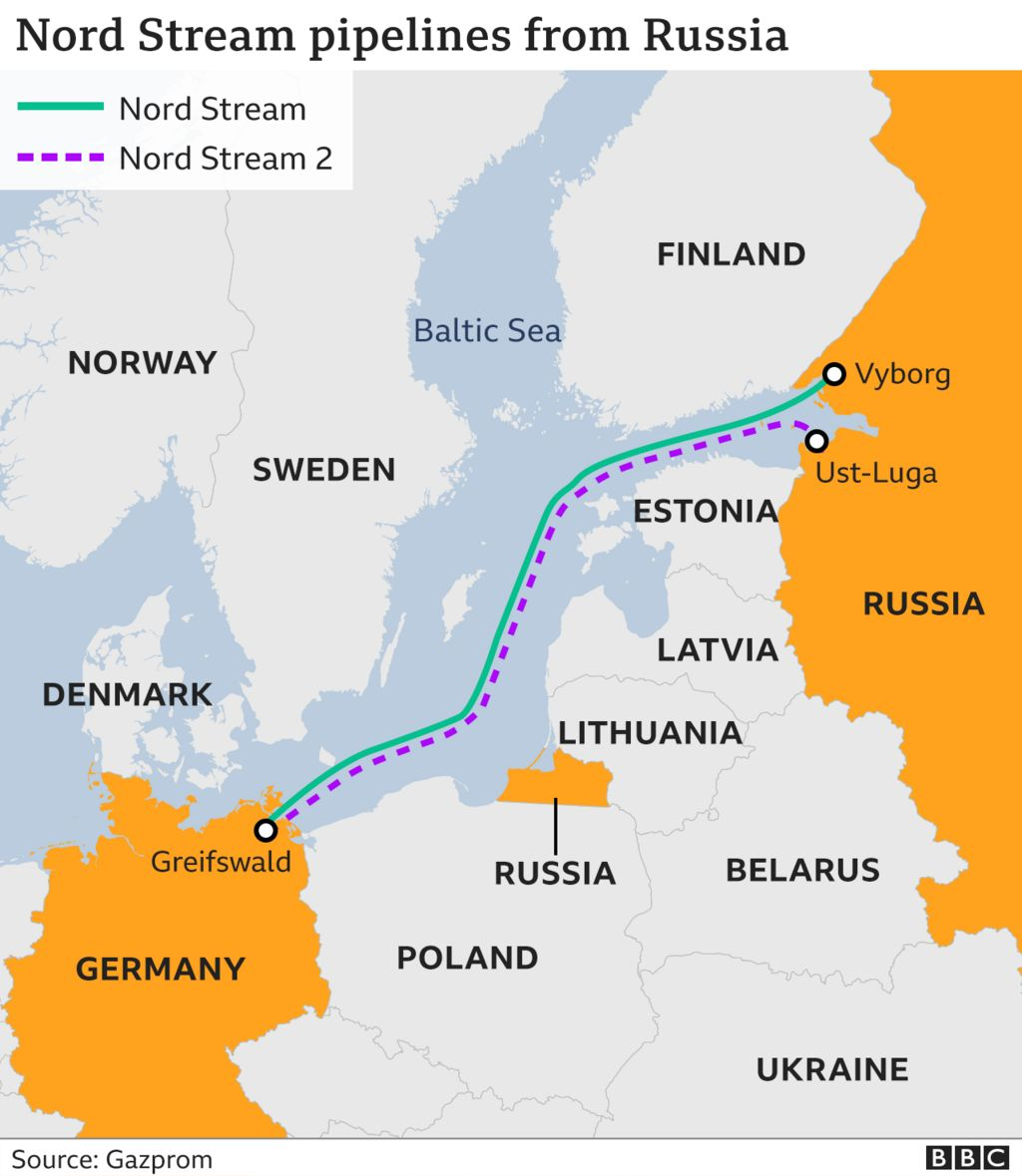 Nord Stream 2: Gazprom says new pipeline to Germany is ready thumbnail
