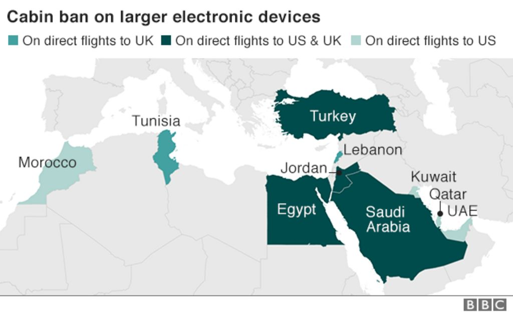 UK flight ban on electronic devices announced - BBC News d87b6d88d0e3f