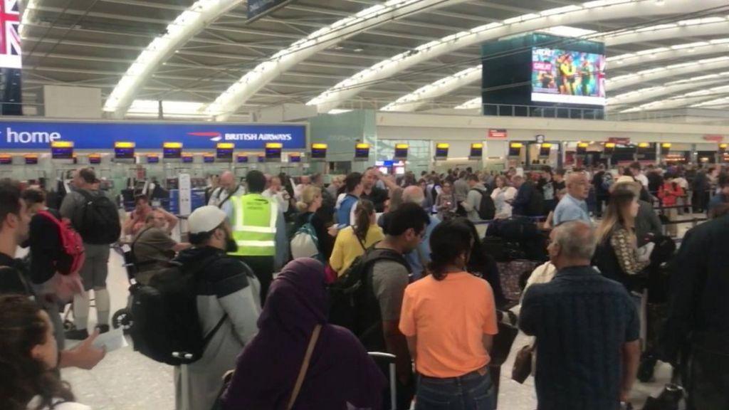 British Airways passengers stranded after IT failures - BBC News