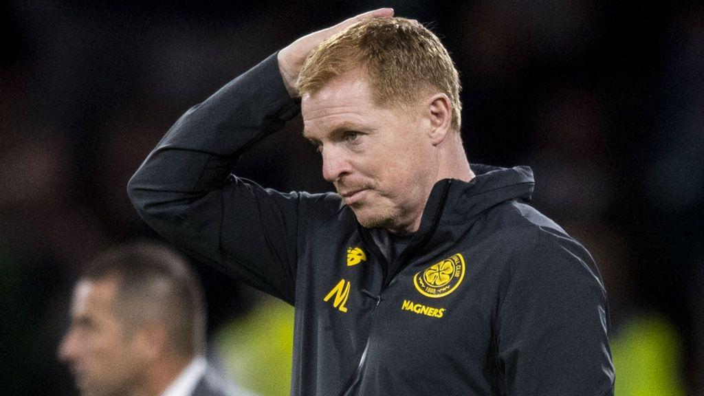 ผลการค้นหารูปภาพสำหรับ Neil Lennon says Celtic 'threw away' Champions League chance