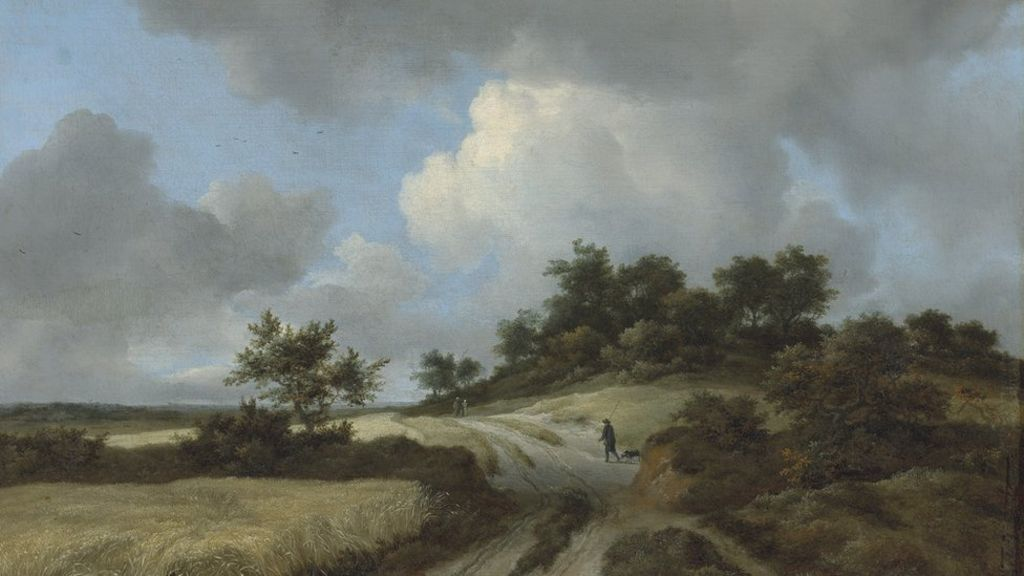 Stolen van Ruisdael painting on display at Ulster Museum