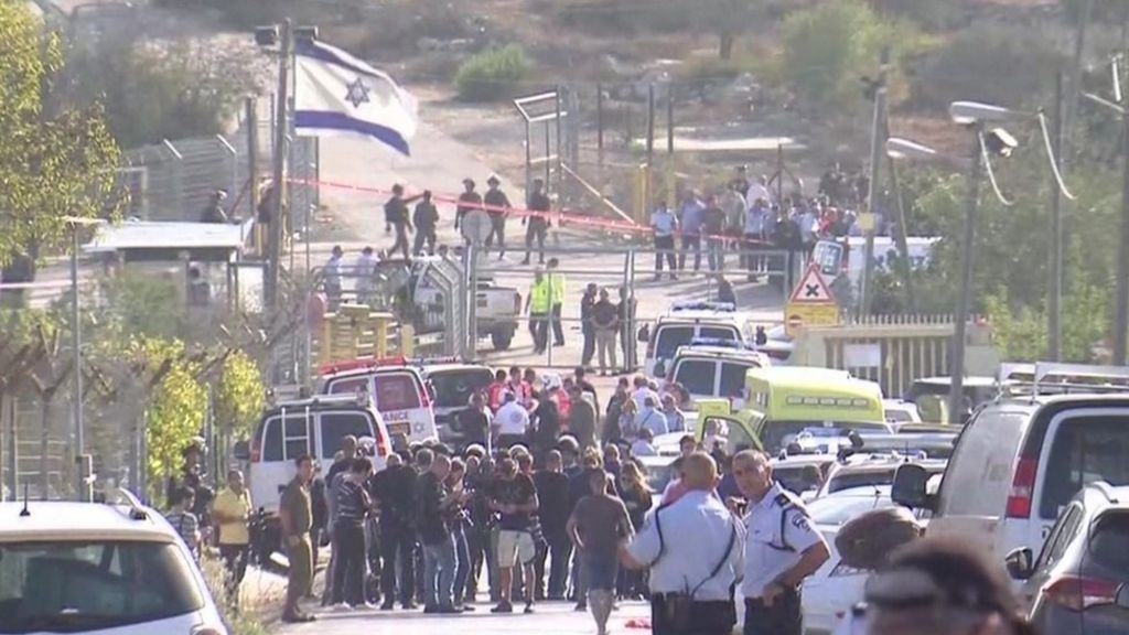 Palestinian gunman kills three Israelis in West Bank