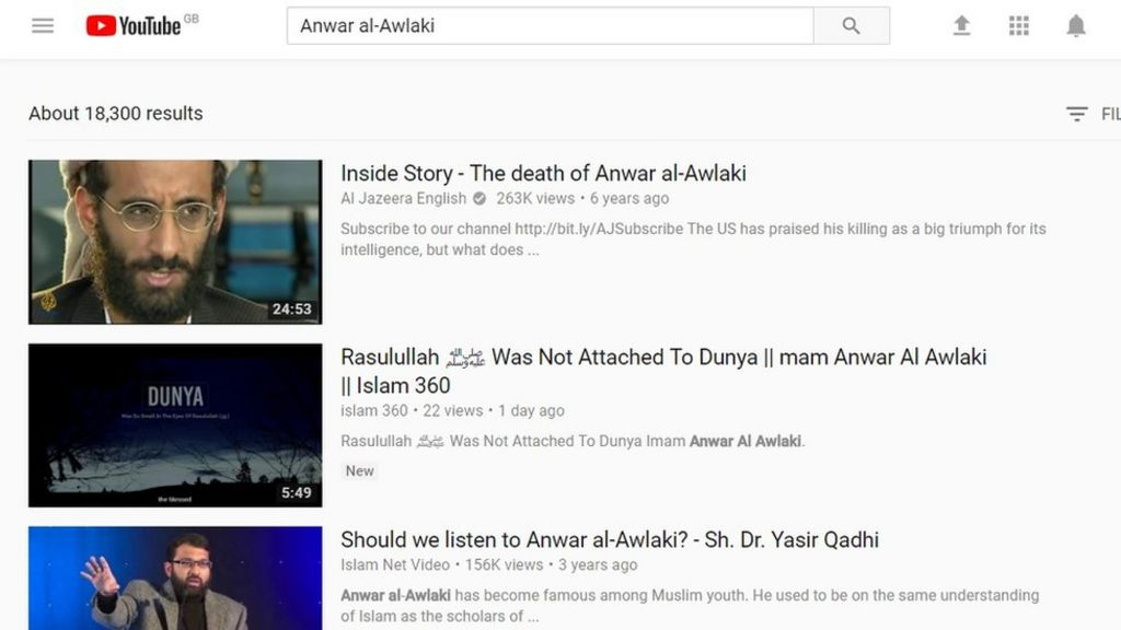 YouTube removes dead extremist's videos