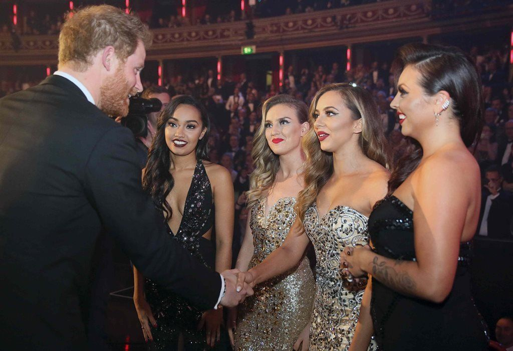 Little Mix at the 2015 Royal Variety Performance