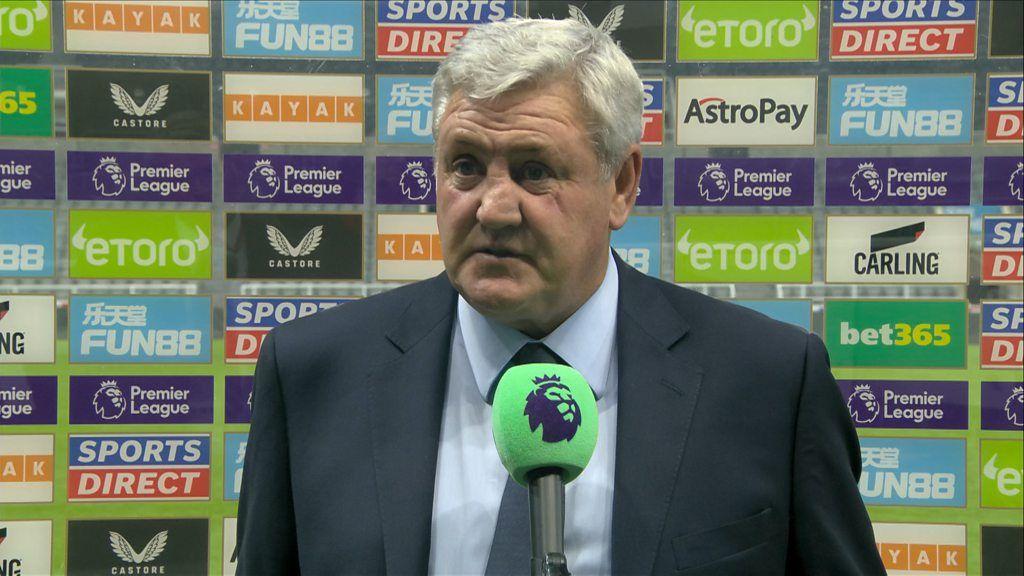 Newcastle United 2-3 Tottenham Hotspur: I'll carry on until I hear otherwise - Steve Bruce