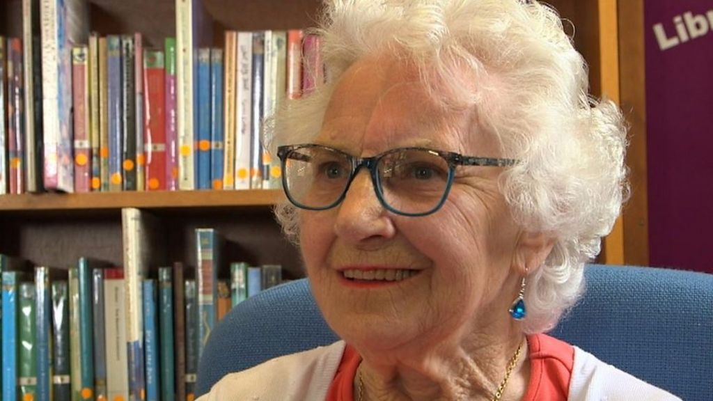 Ursula Shepherd: The 88-year-old who has just learnt to read