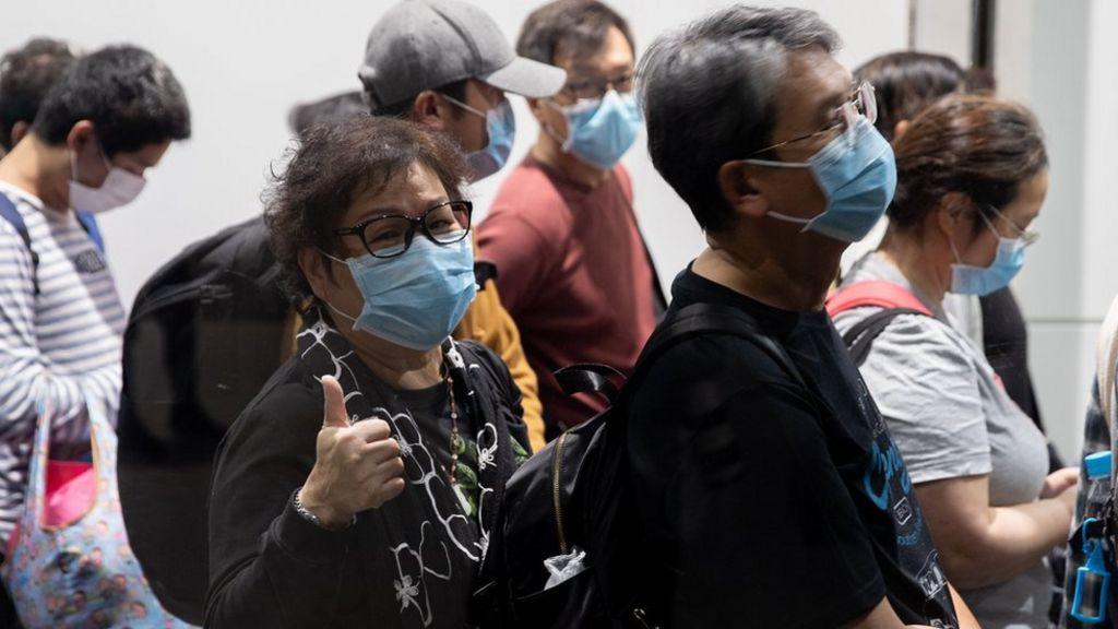 masque anti-virus coronavirus