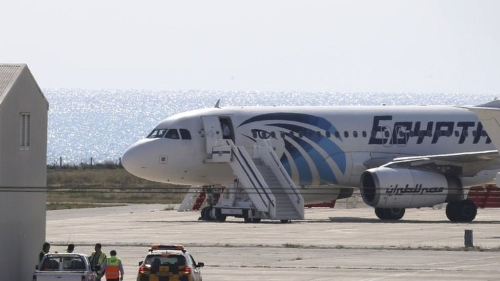 Jokes About The Egyptair Hijacker Divide Social Media Bbc News