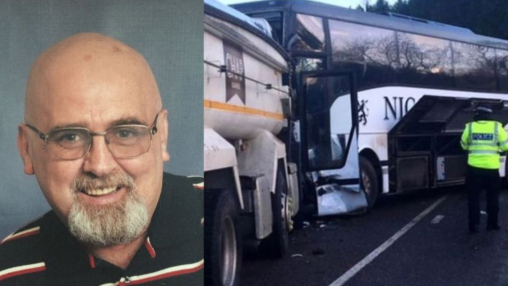 School bus crash driver named by police