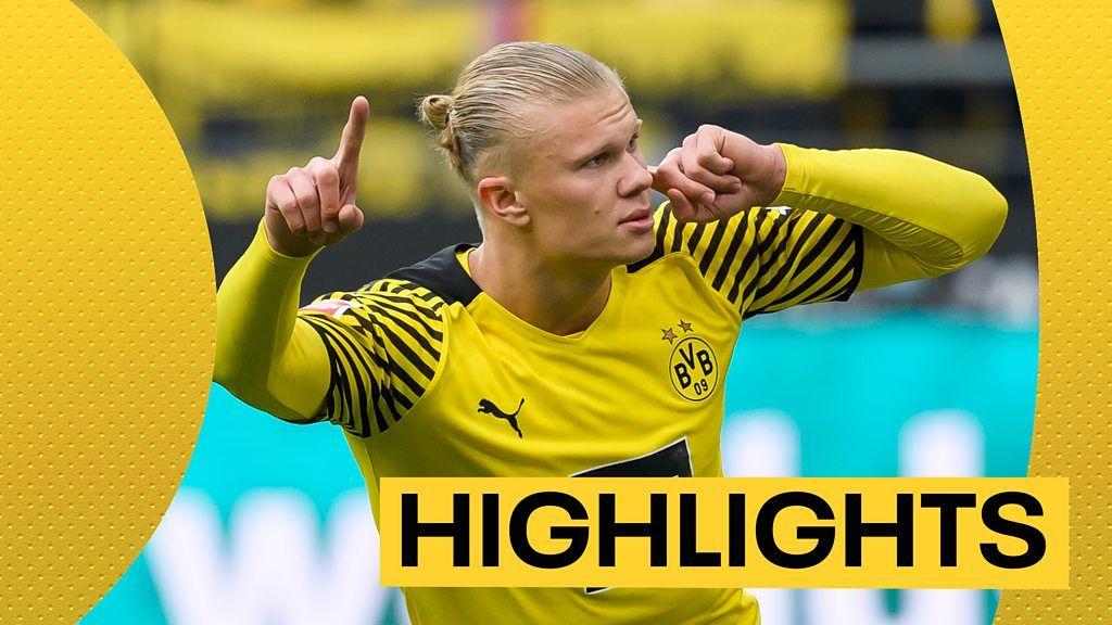 Borussia Dortmund 3-1 Mainz 05: Erling Haaland scores twice on return
