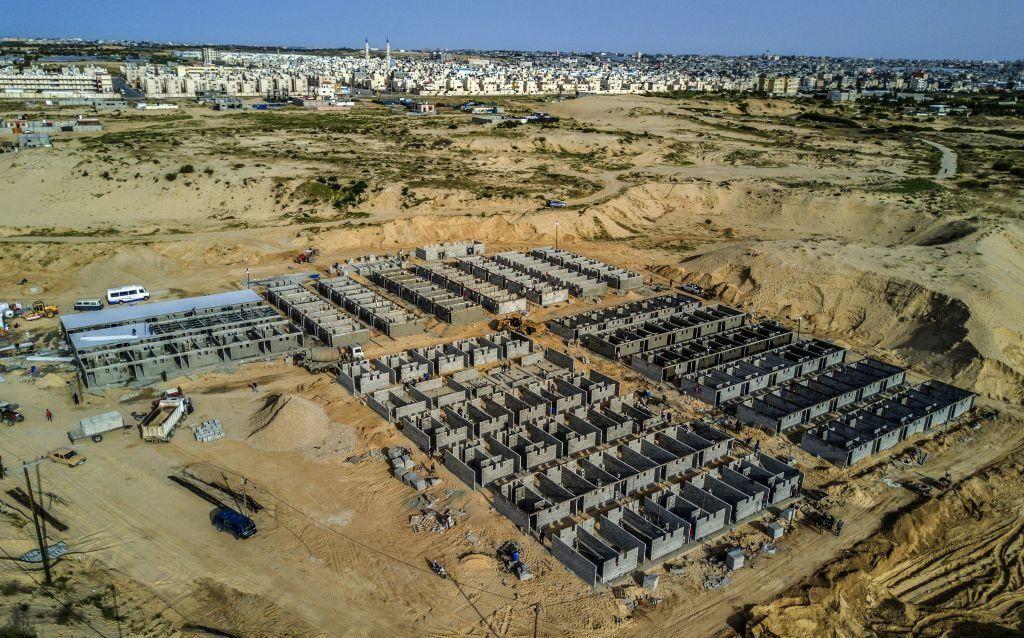 Palestinian coronavirus patients will be treated at this field hospital Rafah, Gaza Strip