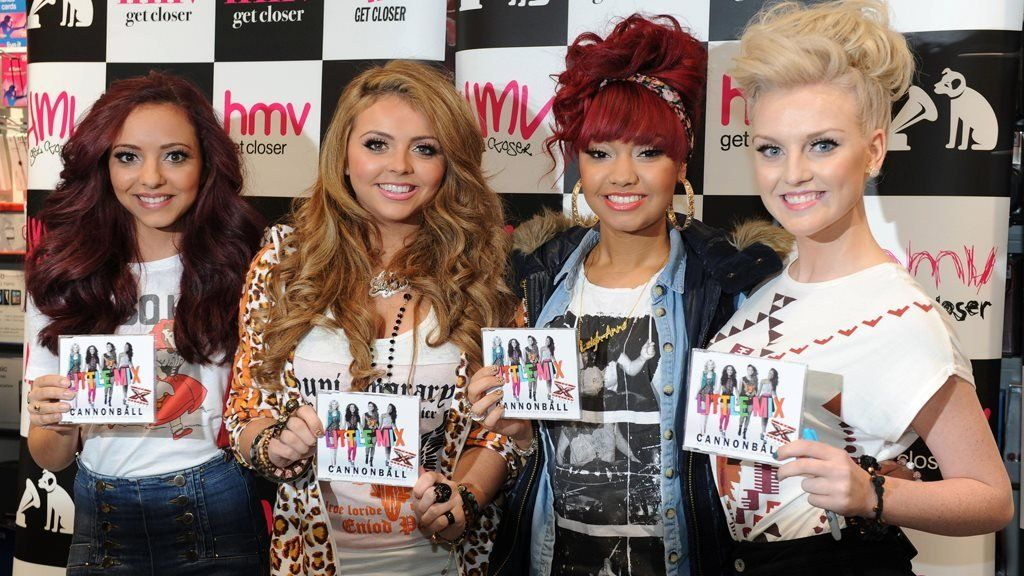 Little Mix promote their first single
