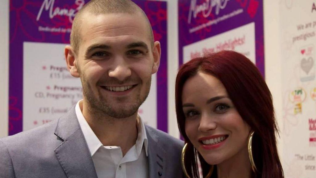 Actress Holly Matthews' tribute to husband Ross Blair