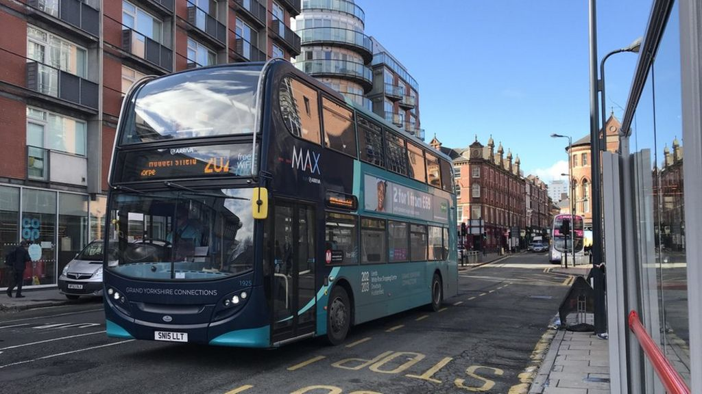 Bus network plans announced in Leeds - BBC News
