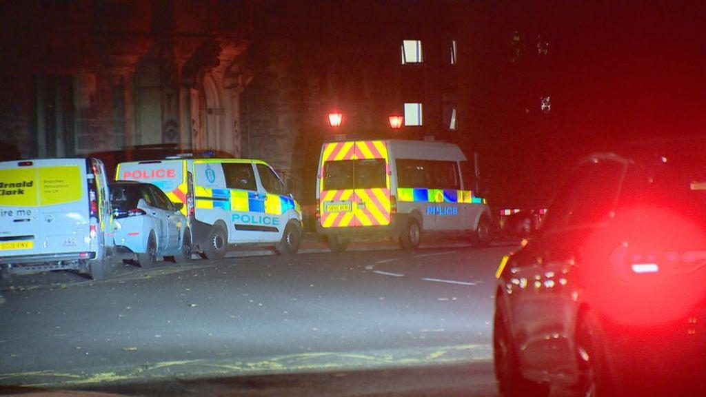 Police break up parties at Edinburgh student halls
