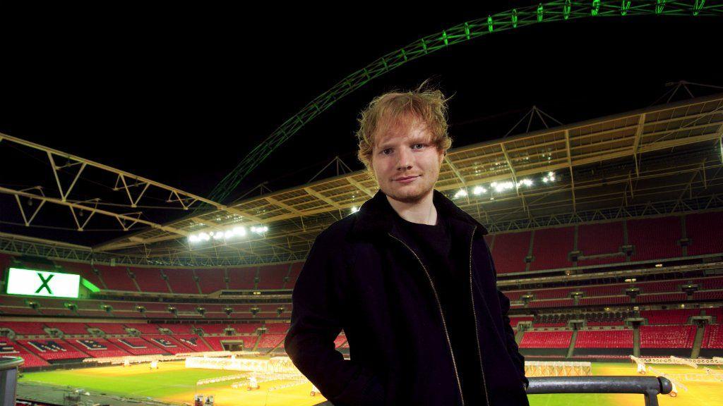 Ed Sheeran at Wembley