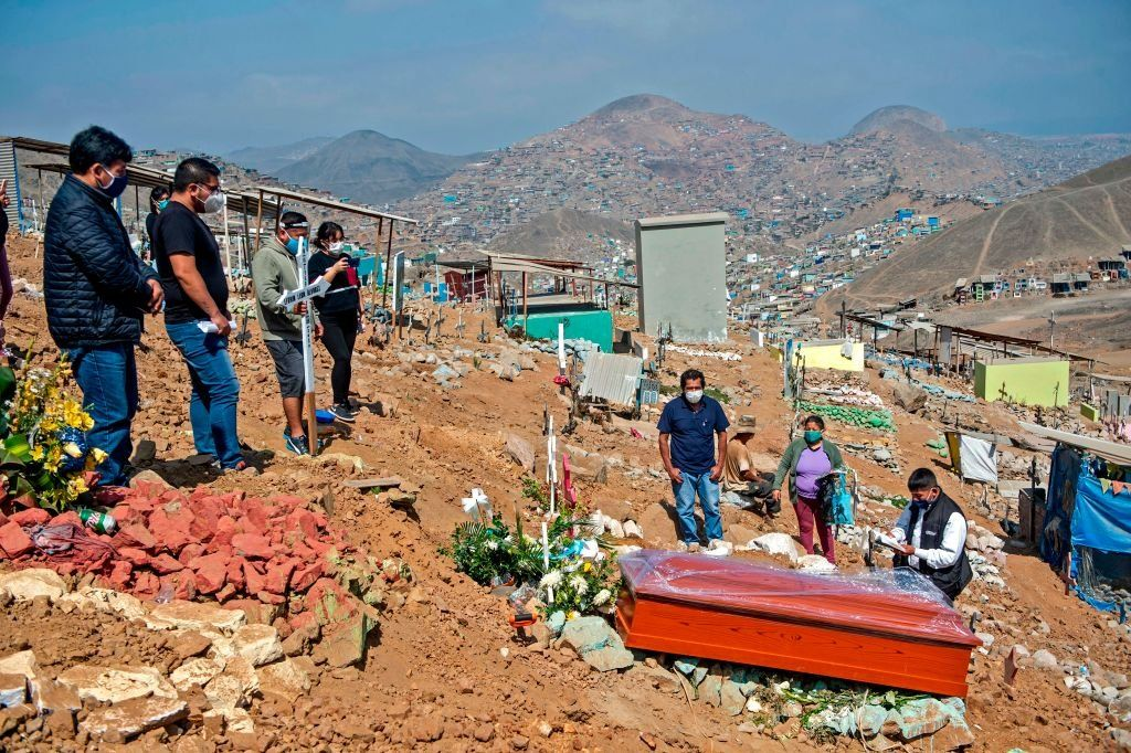 Funeral in Lima