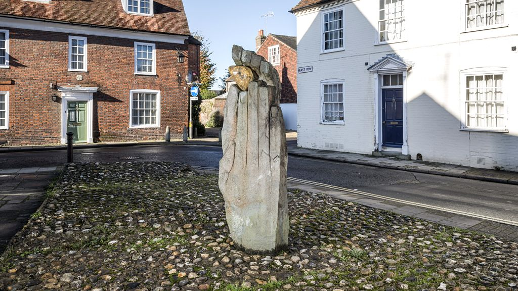 The Symbol of Discovery by John Skelton, 1963 - Chichester.