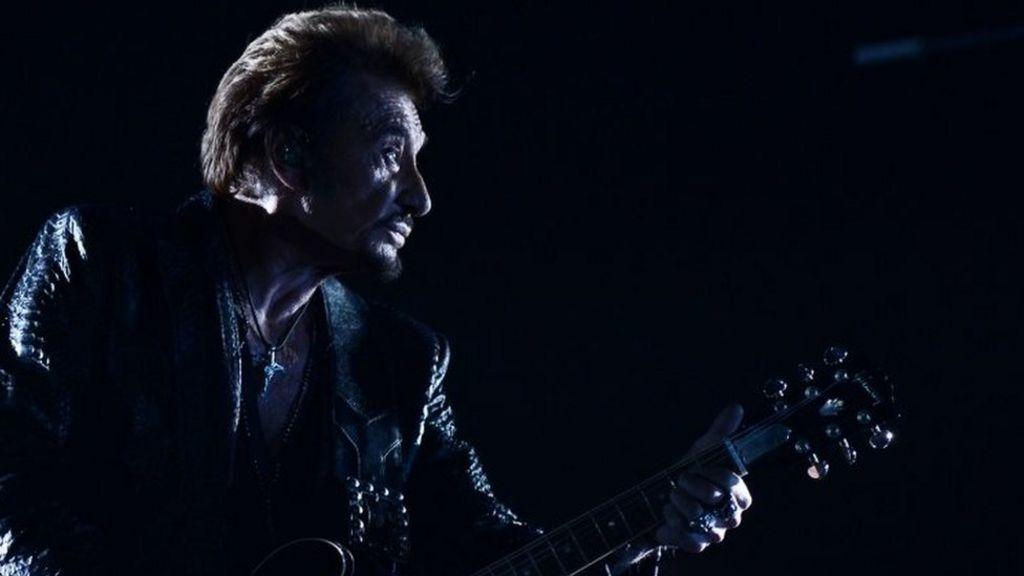 French rock star Johnny Hallyday dies