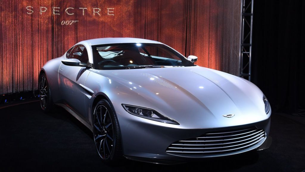 James Bond Aston Martin Db10 Spectre Car Sold For 2 4m