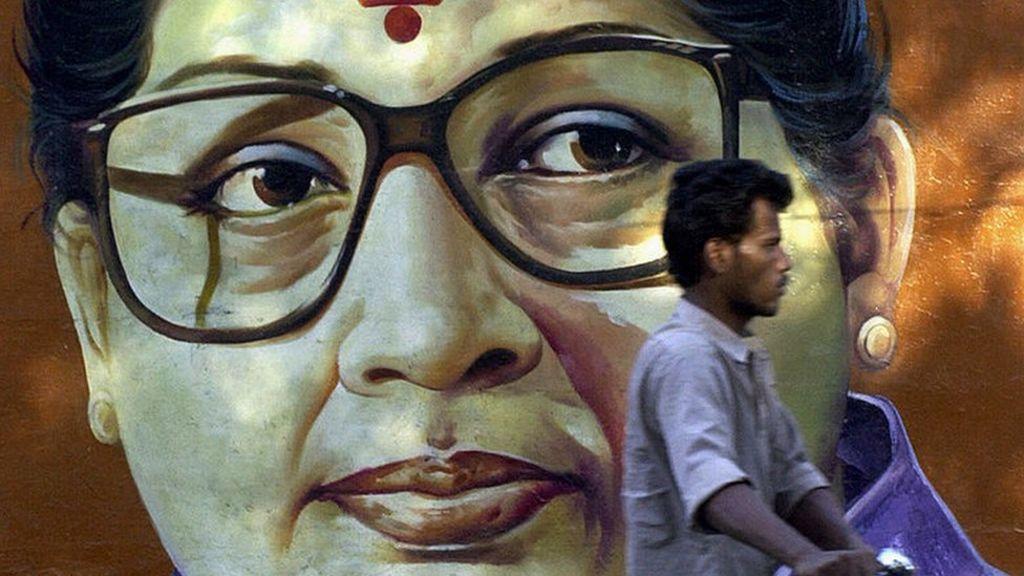 Jayalalitha: The 'goddess' of Tamil Nadu politics - BBC News