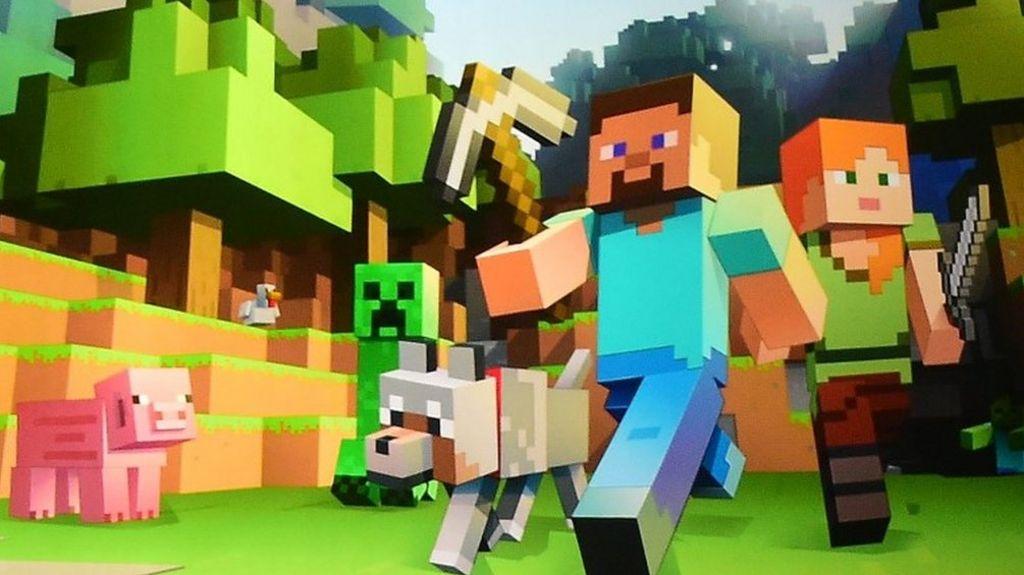 AI experiments roam Minecraft's lands