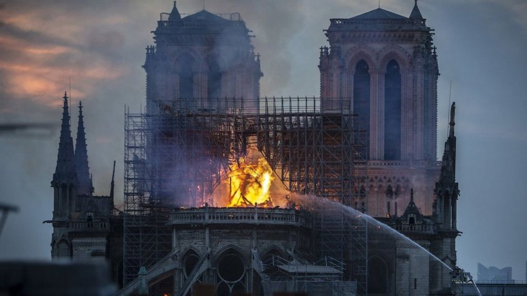Notre-Dame fire: Millions pledged to rebuild cathedral