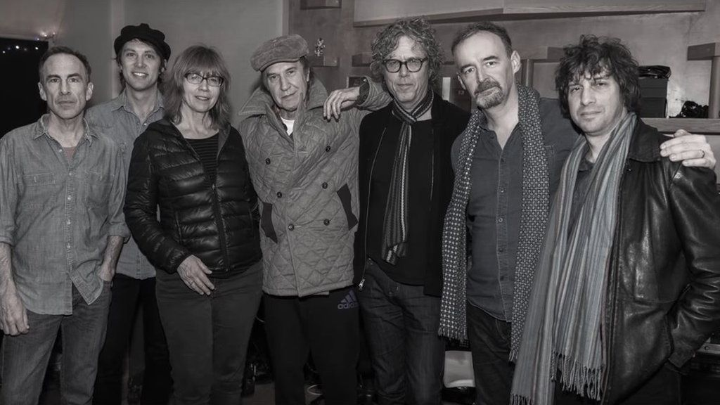 Ray Davies in the studio with the Jayhawks
