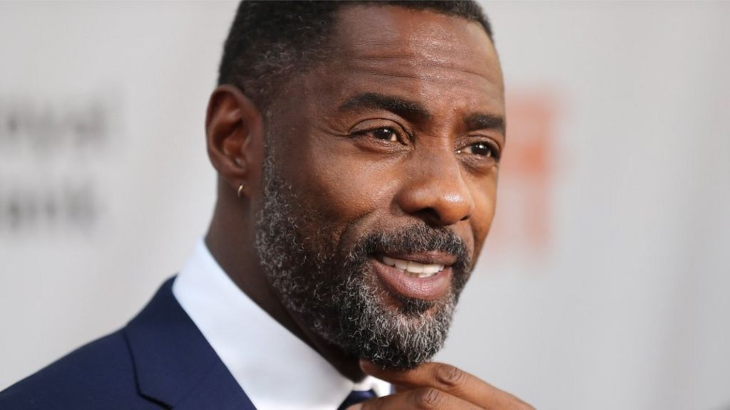 Bald Idris Elba doll is mocked online as fans see no similarity - BBC News