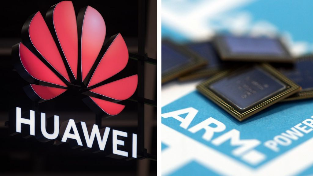 Huawei: ARM memo tells staff to stop working with China's tech giant