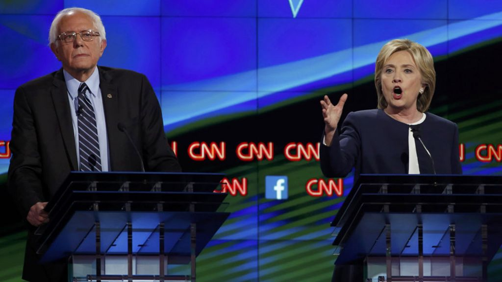 the not at all tough on guns argument of hillary clinton on sen bernie sanders stance on guns in ame