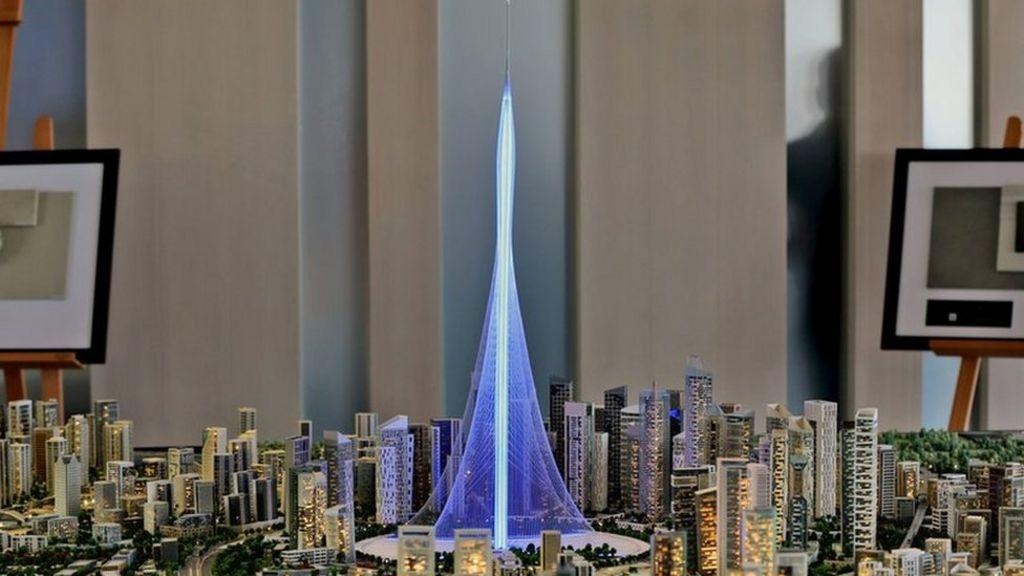 New Dubai tower 'to surpass' world's tallest building Burj ...