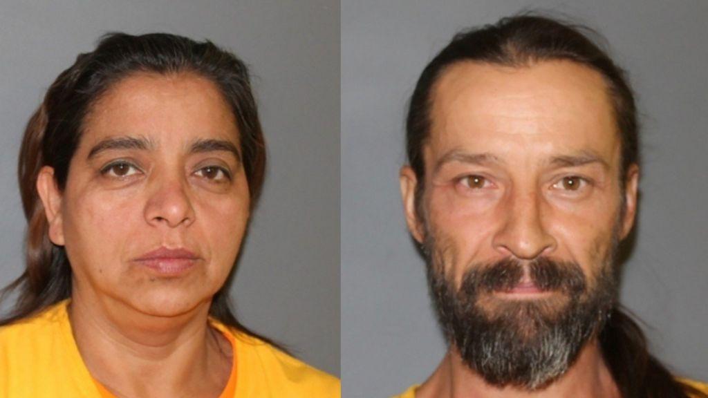 Obdulia Franco (L), 52, and Jason Castillo, 45 (R)