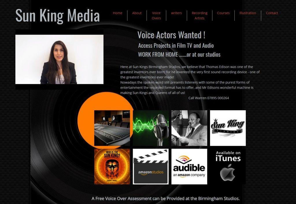 Sun King Media website