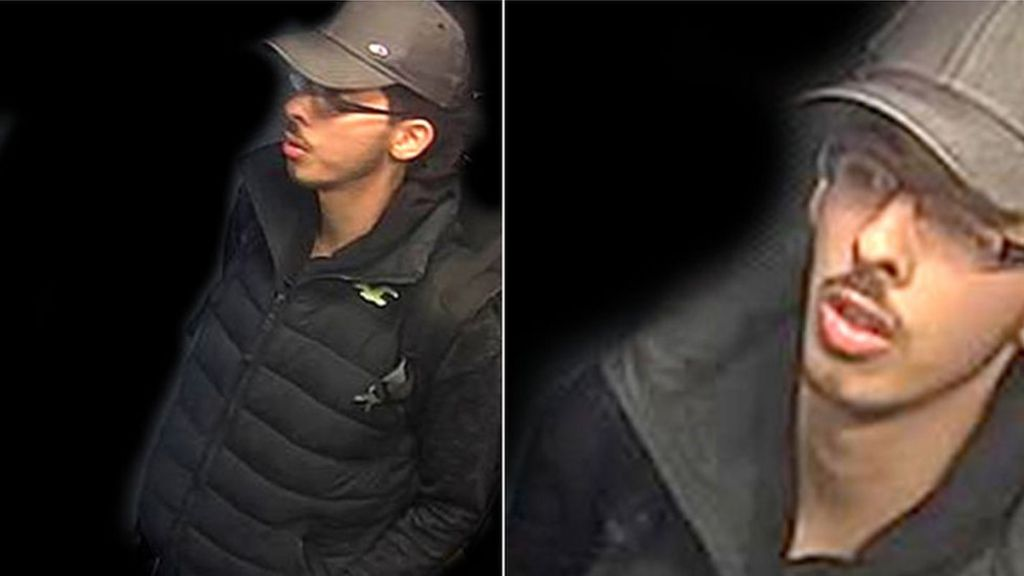 Manchester attack: CCTV shows bomber before arena blast
